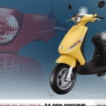1.200 xe Piaggio tại Việt Nam bị lỗi phao xăng
